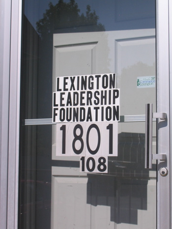 LLF Old Door Sign